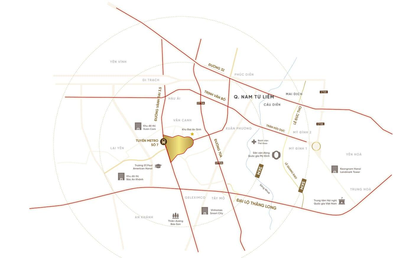 Anlac Green Symphony | Dự án Khu đô thị sinh thái 5 sao - Vị trí