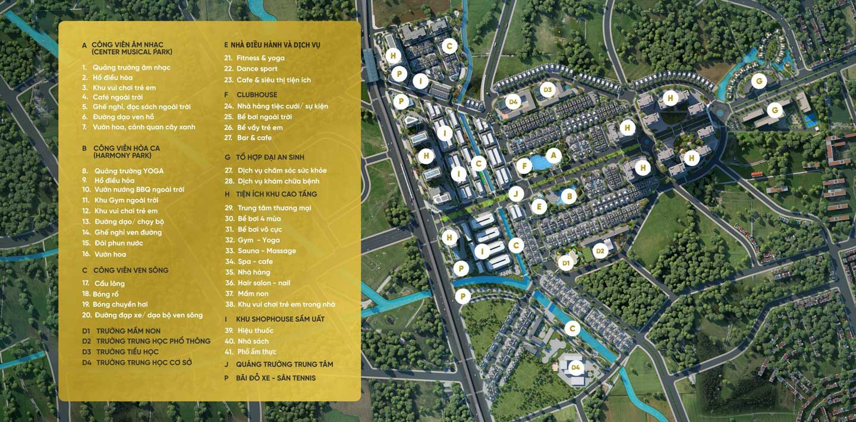 Quy hoạch dự án khu đô thị Anlac Green Symphony