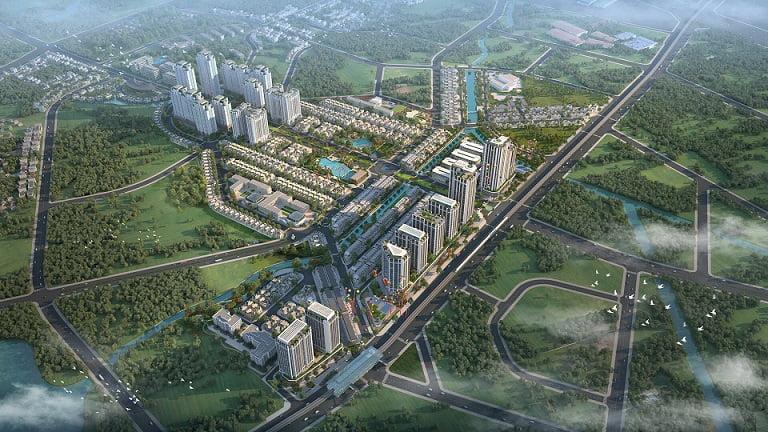 Anlac Green Symphony | Dự án Khu đô thị sinh thái 5 sao - Quy hoạch