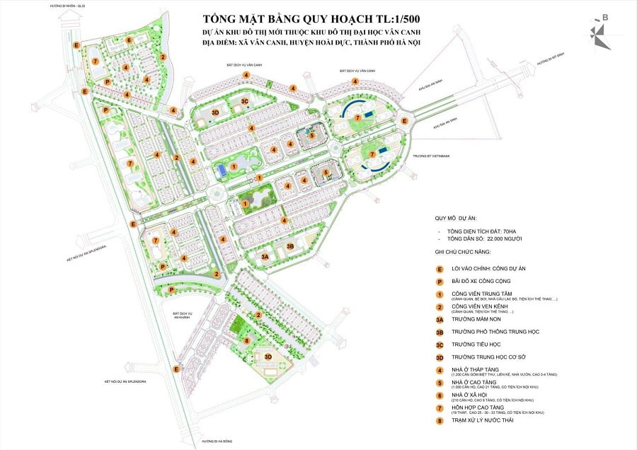 Bản đồ quy hoạch Anlac Green Symphony