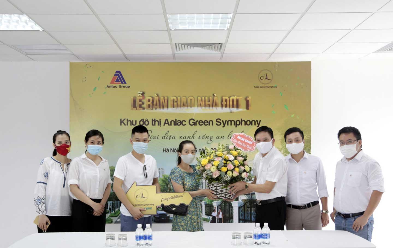 Hạ tầng hoàn thiện, Anlac Group tiến hành bàn giao nhà dự án Anlac Green Symphony